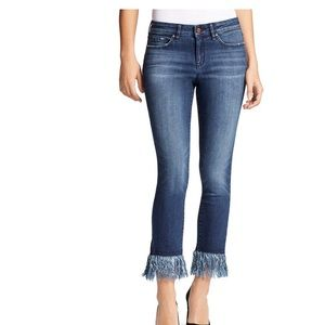 William Rast size 28 frayed bottom jeans
